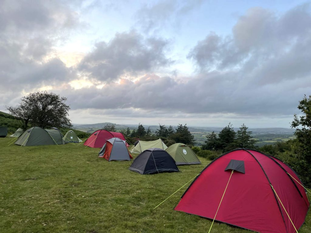 Vision Quest UK camp ground